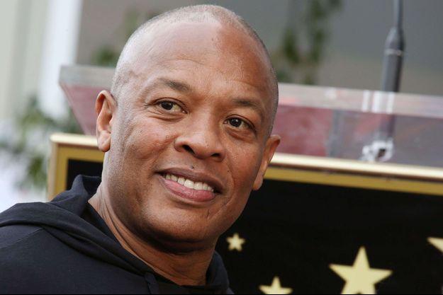 Le rappeur et producteur Dr Dre.