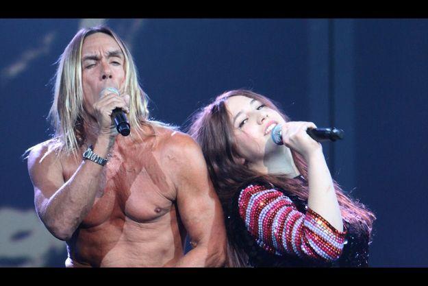 Iggy Pop et Izia