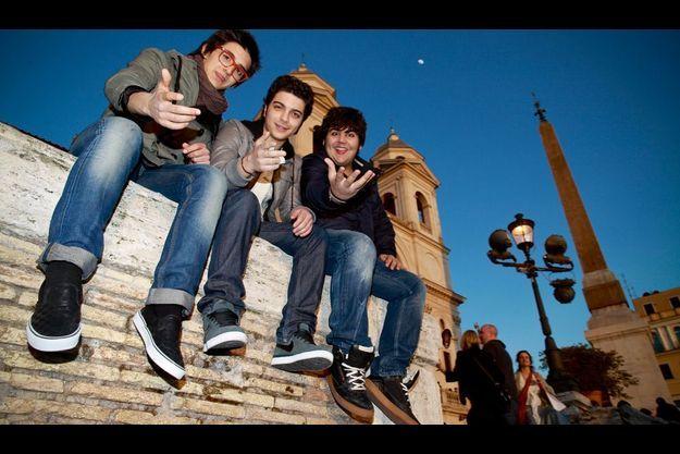 Ignazio Boschetto, Piero Barone et Gianluca Ginoble, un groupe qui mixe classique, pop et standards napolitains