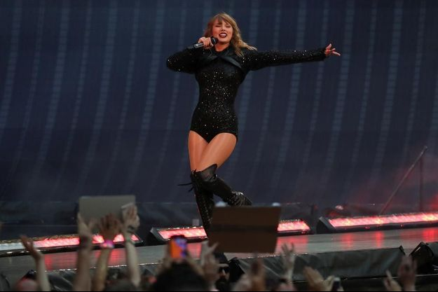 Taylor Swift à Wembley en juin.