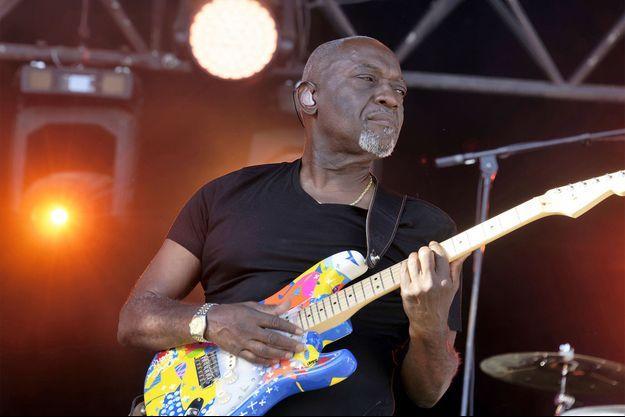 Le guitariste guadeloupéen Jacob Desvarieux.