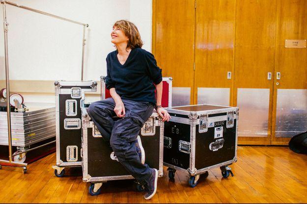 Jane Birkin à Hongkong, début mars.
