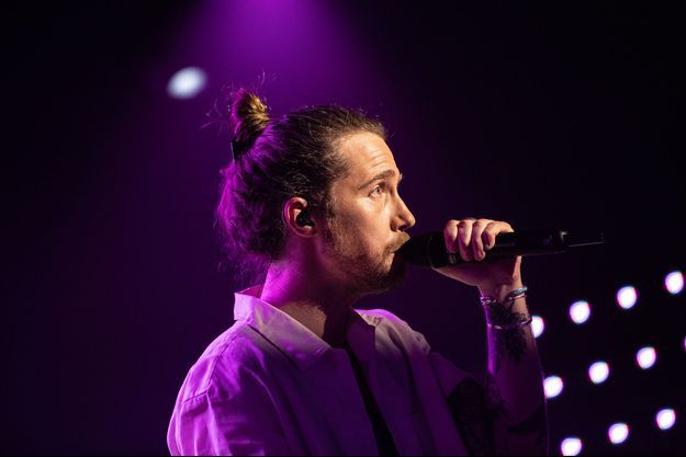 Julien Doré a donné vendredi un concert exceptionnel en temps de pandémie.
