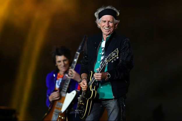 Keith Richards et les Rolling Stones le 22 mai 2018 à Londres.