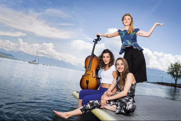 Sur le lac Léman avec le trio L.E.J