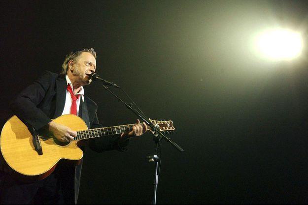 Renaud sur scène en 2007