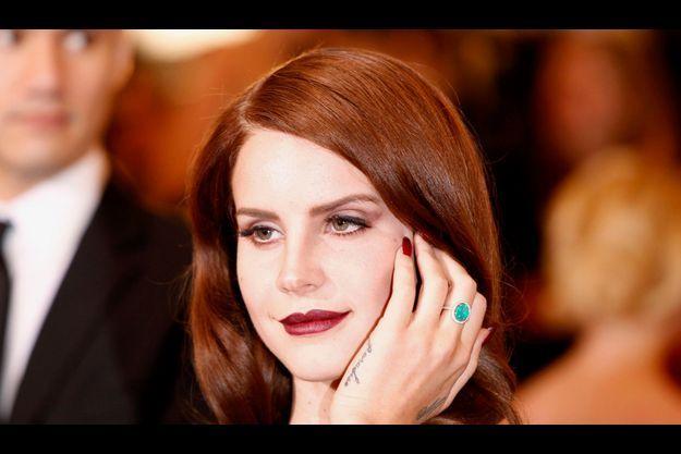 Lana Del Rey à New York en mai 2012.
