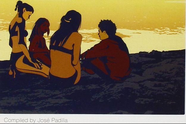 Extraite de la pochette de la compilation volume 6 de Café del Mar remixée par José Padilla.
