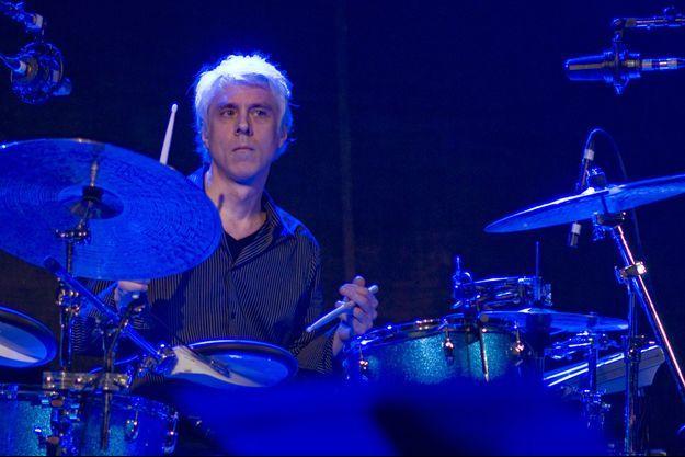 Bill Rieflin lors d'un concert avec R.E.M. à Austin (Texas) en 2008