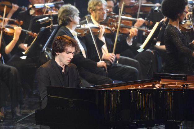 Le pianiste Alexandre Kantorow lors de la 26 eme cérémonie des Victoires de la Musique Classique à la Seine Musicale à Boulogne-Billancourt, le 13 février 2019.