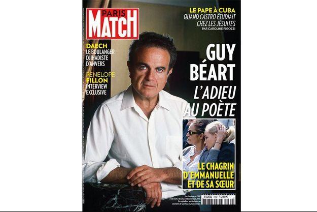 Cette semaine, en Une de Paris Match, notre hommage à Guy Béart.