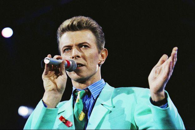 David Bowie en 1992.