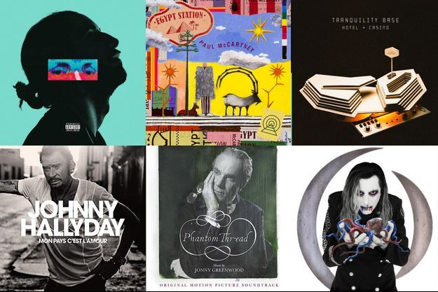 Notre sélection des meilleurs albums de l'année.