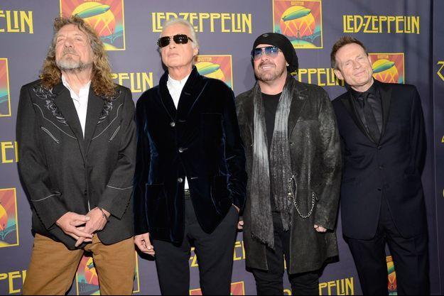 Led Zeppelin en 2009.