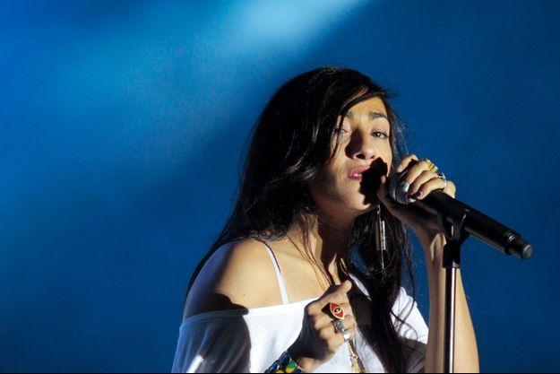 La chanteuse marocaine Hindi Zahra.