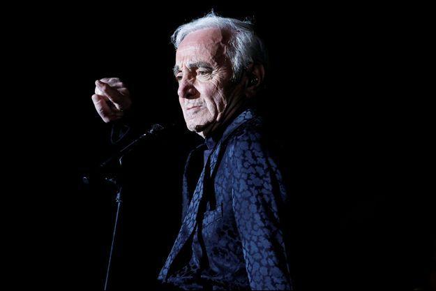 Charles Aznavour en mars 2013.