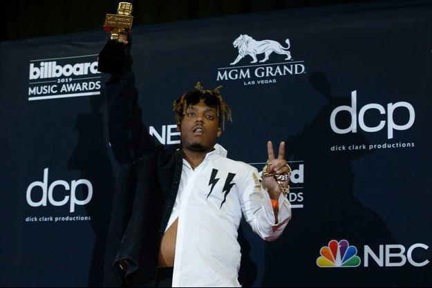 Le rappeur Juice WRLD à la cérémonie des Billboard Music Awards, en mai 2019, à Las Vegas.