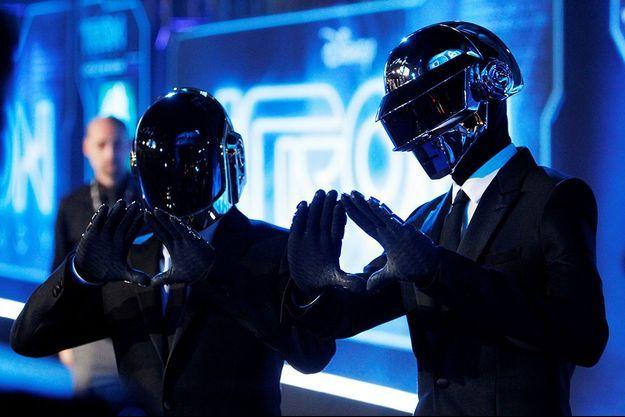 Les Daft Punk en 2010.