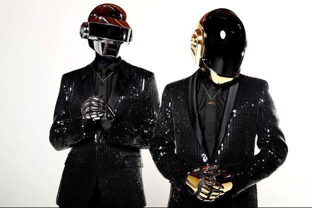 Les Daft Punk.