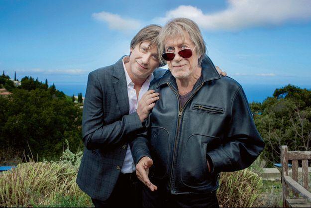 Jacques et Thomas Dutronc.