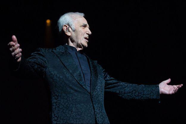 Charles Aznavour le 23 juin 2014.
