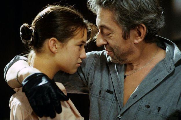 Charlotte et Serge Gainsbourg