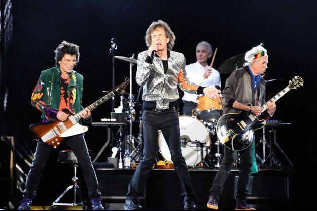 Les Stones en concert à Hambourg le 9 septembre 2017.