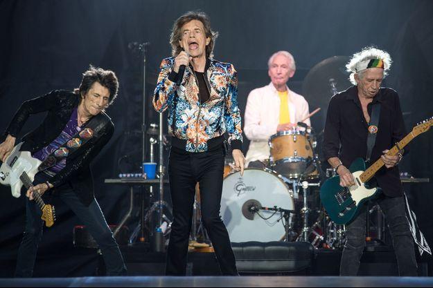 Les Rolling Stones à Stuttgart en juin dernier.