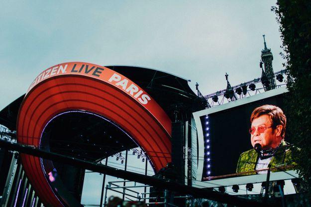 Elton John au Global Citizen
