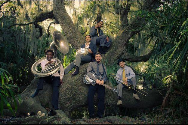 James Williams et ses «New Orleans Swamp Donkeys »