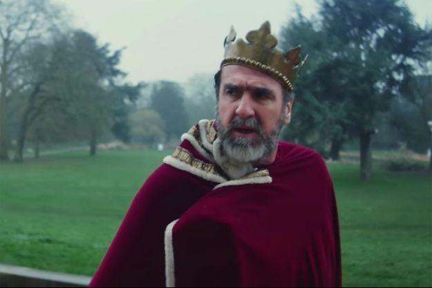 """Eric Cantona dans le clip """"Once"""" de Liam Gallagher."""