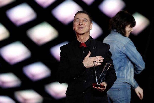 Etienne Daho, en février 2018 aux Victoires de la musique.