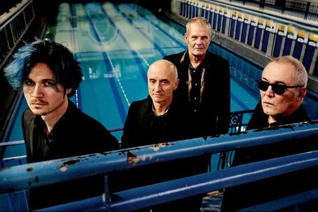 De g. à dr. : Simon Mahieu, Eric Morinière, Frank Darcel et Thierry Alexandre.