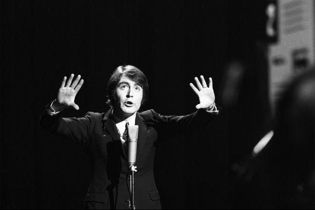 Michel Delpech en 1968