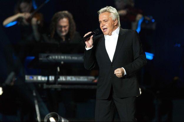 Michel Sardou en concert en 2012 à Paris.