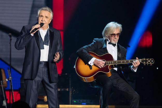 Michel Sardou ici en concert à la Seine Musicale, le 26 décembre 2017.