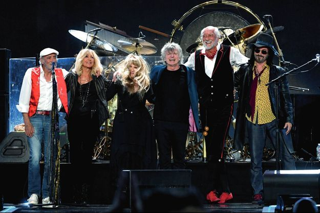 Fleetwood Mac en 1970 : Jeremy Spencer, Mick Fleetwood, John McVie et Peter Green.