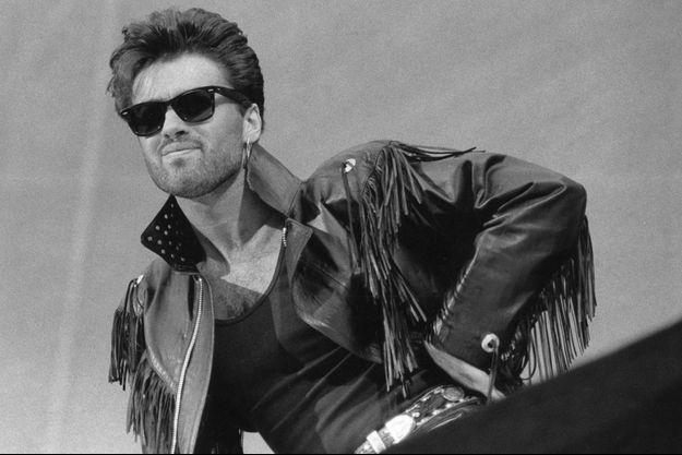 George Michael en 1986.