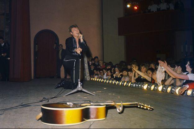 Johnny Hallyday en 1963.