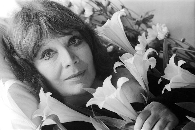 Juliette Gréco en 1989.