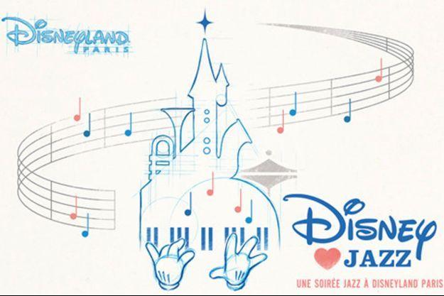 """L'affiche de """"Disney Loves Jazz"""" 2019."""