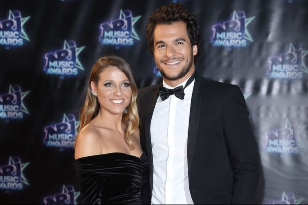 Amir et sa femme aux NRJ Music Awards