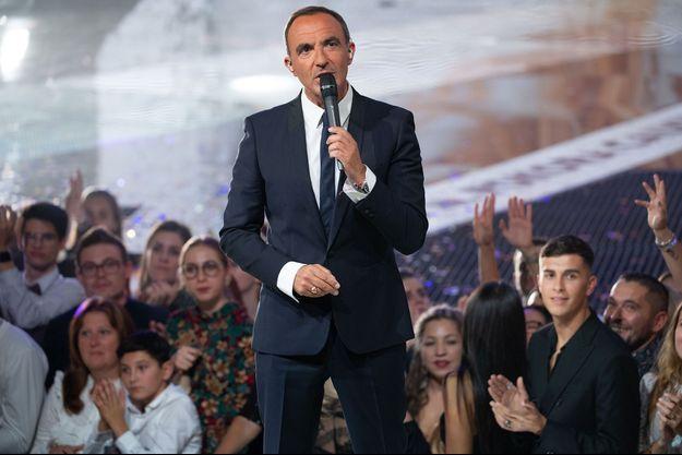 Nikos Aliagas lors des NRJ Music Awards 2019.