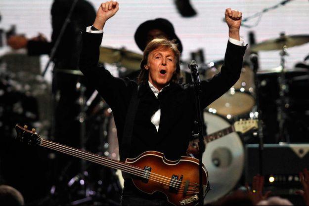 Sur la scène du Rock and Roll Hall of Fame, à Cleveland, en avril dernier.