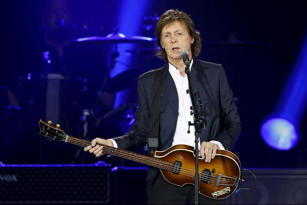 Paul McCartney au Stade de France en juin 2015.