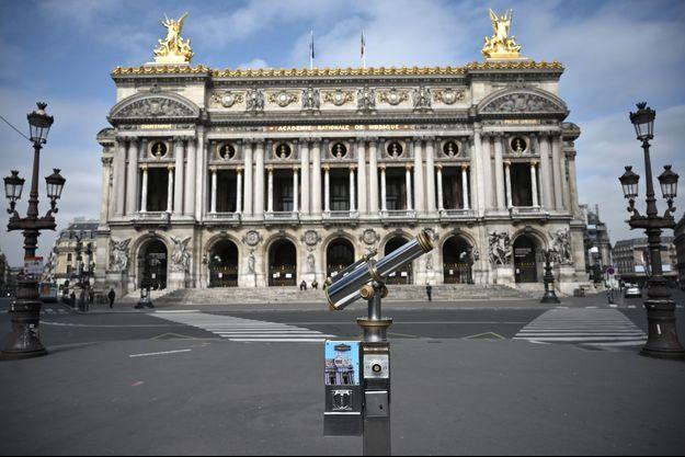 Palais Garnier, le 17 mars 2020.