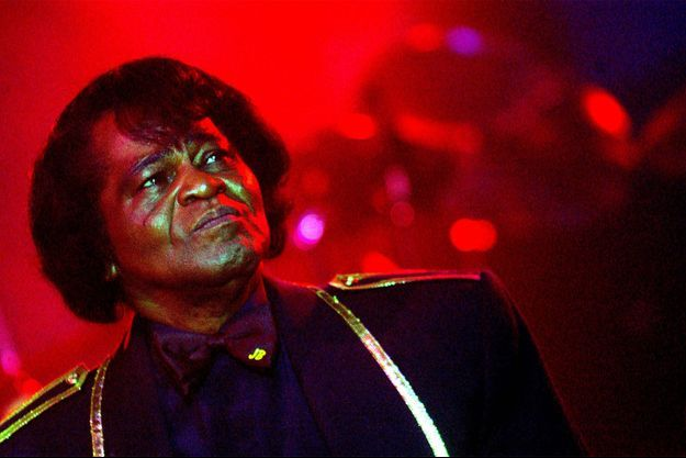 James Brown sur scène en 2003.