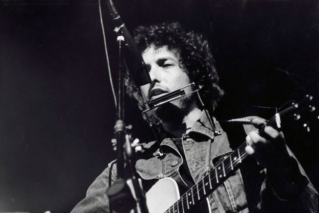 Bob Dylan en concert pour le Bengladesh en 1972