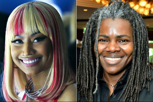 Niki Minaj et Tracy Chapman (photo d'illustration)