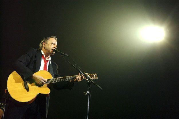 Renaud sur scène à Bruxelles, en 2007.